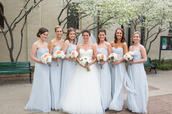 Pale Blue Bridesmaids Dresses : Bridesmaid dresses wedding special occasion