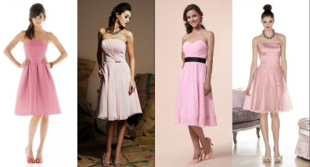 Pastel Dresses For Guests Of Semi-formal Weddings ...