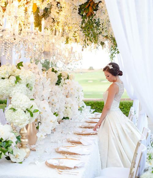 Romantic And Beautiful Wedding Scene